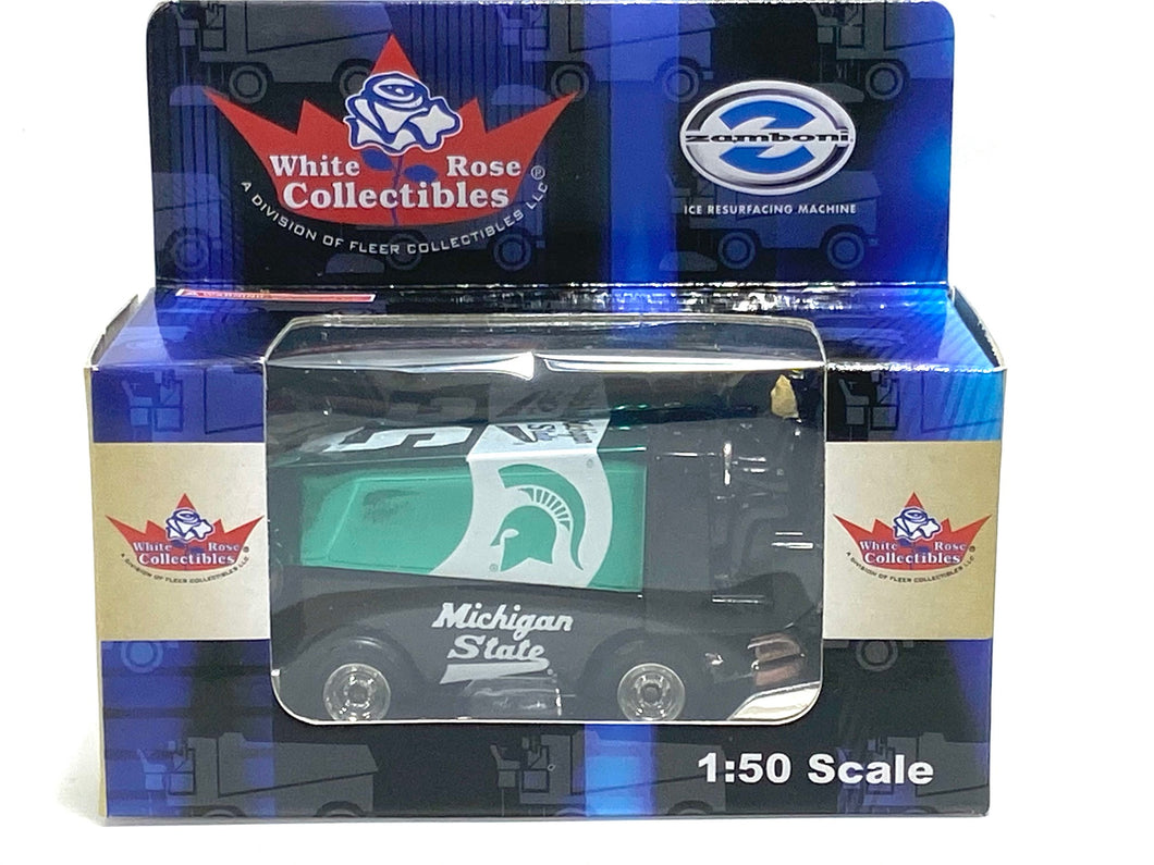 Michigan State Spartans Vintage NCAA Zamboni By White Rose Collectibles