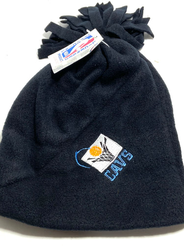 Cleveland Cavaliers Vintage NFL Cuffless Fleece Tassel Hat (New) By Drew Pearson Marketing