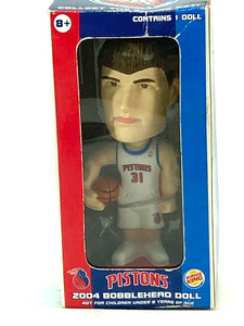 Detroit Pistons Vintage 2004 Darko Milicic Burger King Mini-Bobblehead by Fotoball