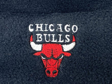 Load image into Gallery viewer, Chicago Bulls Vintage NBA Cuffed Black Fleece Hat (New) By Drew Pearson Marketing