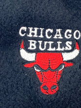 Load image into Gallery viewer, Chicago Bulls Vintage NBA Adult Black Fleece Mittens (New) By Drew Pearson Marketing