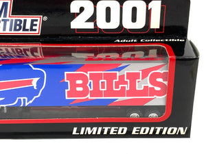 Buffalo Bills Vintage 2001 Limited Edition 1:80 Scale Kenworth Tractor Trailer (New) By White Rose