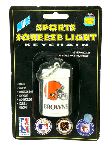 Cleveland Browns Vintage NFL Keychain (New) (LIght Does NOT Work) By Good Stuff Corp.