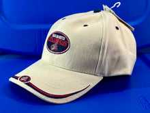"Load image into Gallery viewer, Columbus Blue Jackets Vintage Structured ""Stache""  Cap (New) By Twins Enterprise"