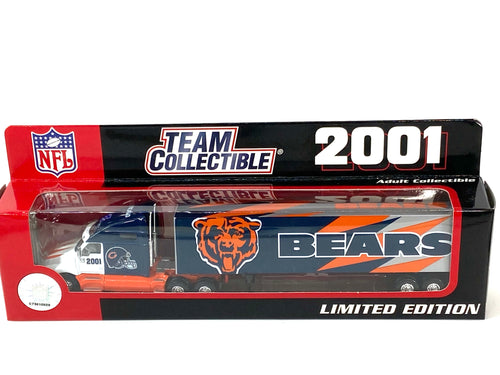 Chicago Bears Vintage 2001 Limited Edition 1:80 Scale Kenworth Tractor Trailer (New) By White Rose