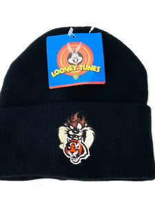 Cincinnati Bengals Vintage 1998 NFL/Looney Tunes Knit Hat (new) By Drew Pearson Marketing