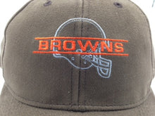 Load image into Gallery viewer, Cleveland Browns Vintage NFL Brown Silhouette Cap (New) By Drew Pearson Marketing
