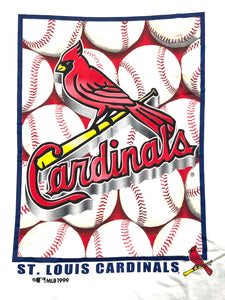 St. Louis Cardinals 1999 MLB Logo Tee (New) by College Concepts