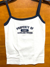 "Load image into Gallery viewer, Cleveland Indians MLB 2000 Ladies Tank Top ""1901"" by 9th and Ocean"