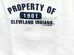 "Cleveland Indians MLB 2000 Ladies Tank Top ""1901"" by 9th and Ocean"