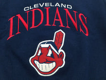 Load image into Gallery viewer, Cleveland Indians Vintage MLB Youth Embroidered Sweatshirt by Chalkline