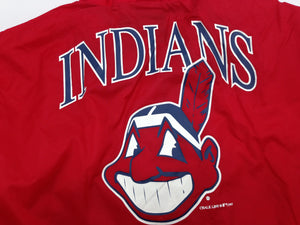 Cleveland Indians Vintage 1997 MLB Chief Wahoo XL Windbreaker (New) by Chalkline