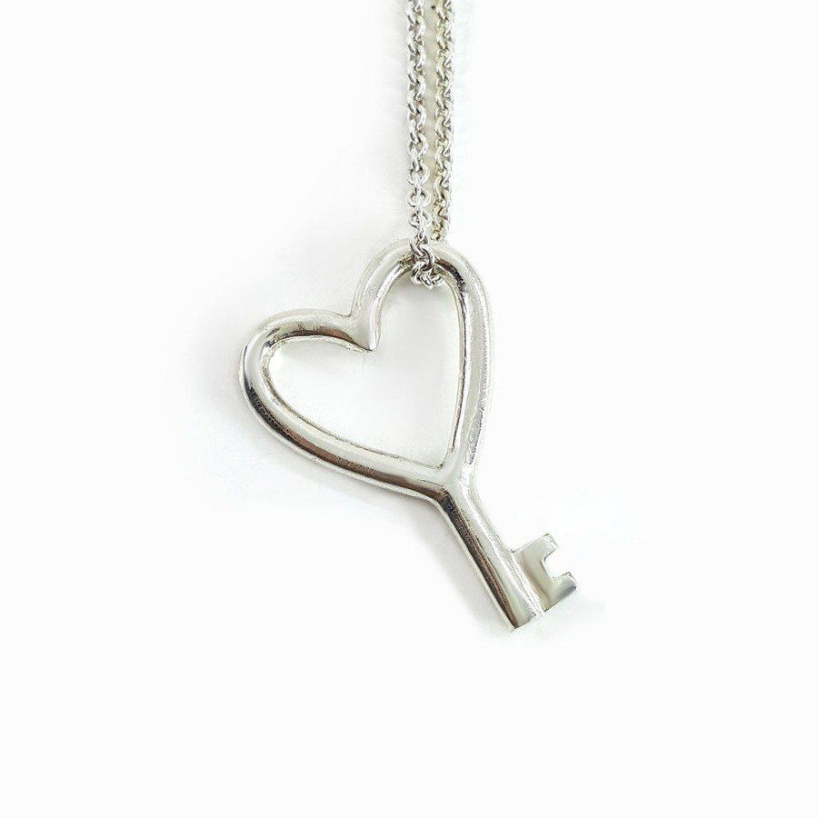 Heart Key Necklace - Xanne Fran Studios