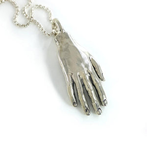 Giant Hand Necklace - Xanne Fran Studios