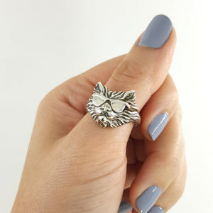 Cool Cat Ring - Xanne Fran Studios