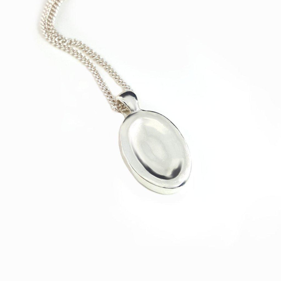 Double Sided Worry Stone Necklace - Xanne Fran Studios