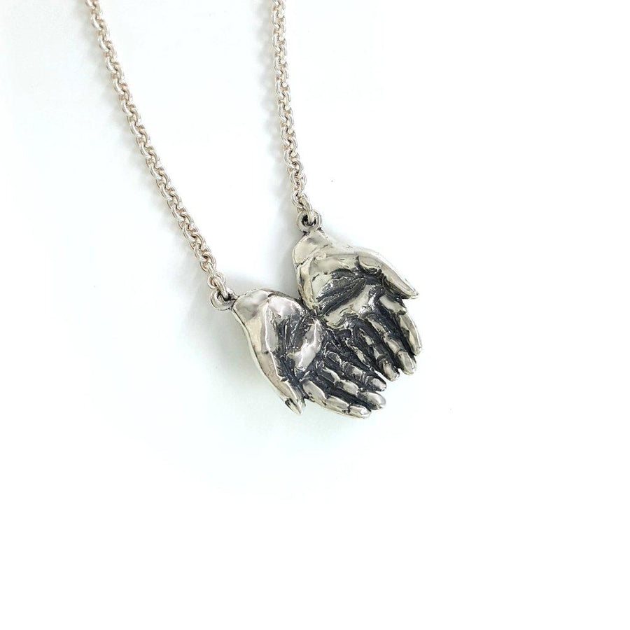 Giving Hands Necklace - Xanne Fran Studios
