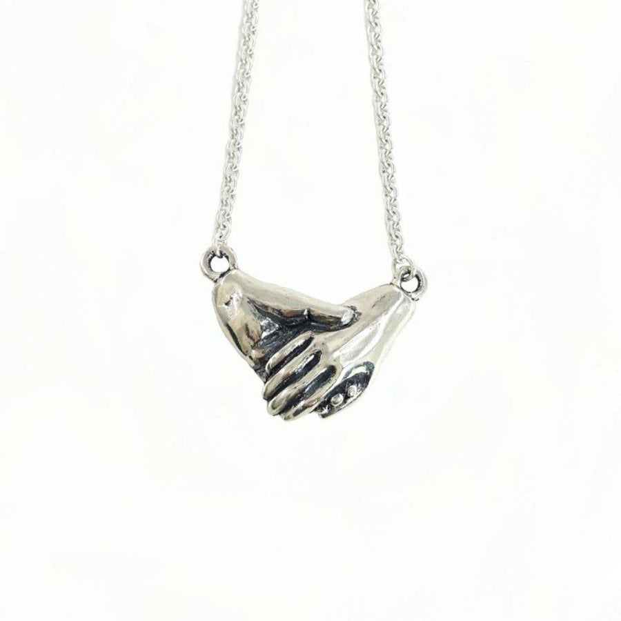Holding Hands Necklace - Xanne Fran Studios