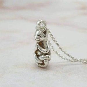 Yoga Cat Necklace - Xanne Fran Studios