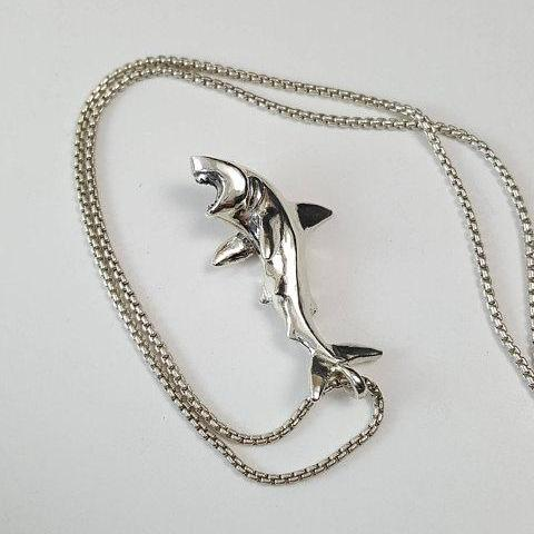 Shark Necklace - Xanne Fran Studios