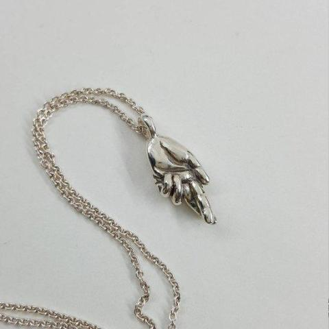 Fingers Crossed Necklace - Xanne Fran Studios