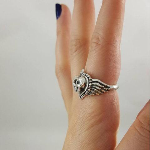Eternal Love Skull Ring - Xanne Fran Studios