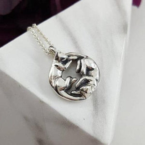 Yin Yang Cats Necklace - Xanne Fran Studios
