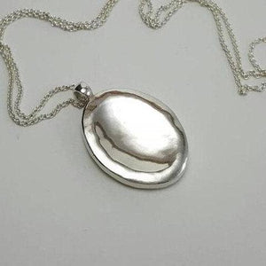 Large Worry Stone Necklace - Xanne Fran Studios