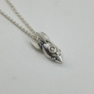 Rocketship Necklace - Xanne Fran Studios