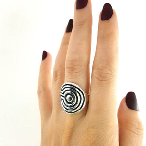Labyrinth Ring - Xanne Fran Studios
