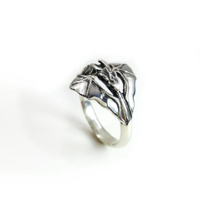 Winged Ouroboros Ring - Xanne Fran Studios