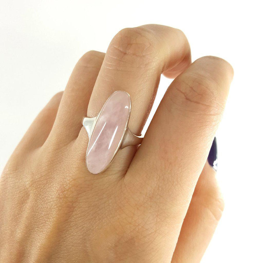 Rose Quartz Ring - Xanne Fran Studios