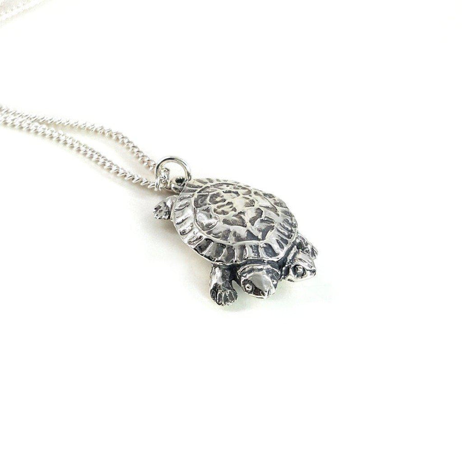 Two-Headed Turtle Necklace - Xanne Fran Studios