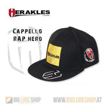 Herakles Black Cotton Cap