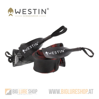 Westin Rod Cover Spin Black/Red