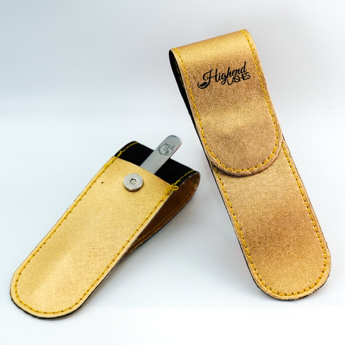 Golden Tweezer Pouch