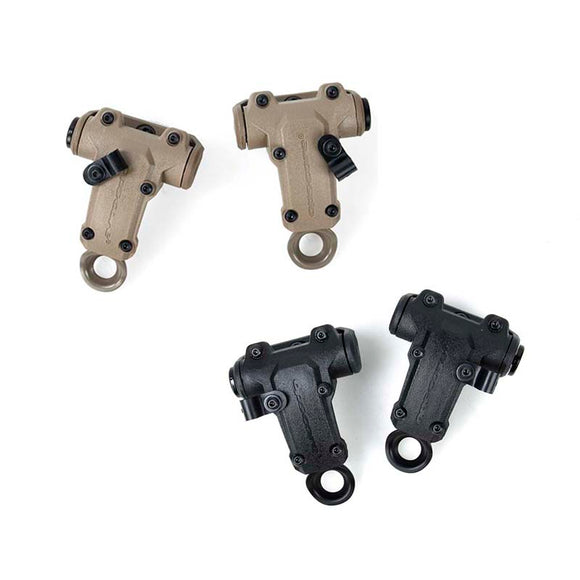 TMC Tactical RAC Headset Rear ARC Rotate Mount