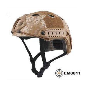 Tactical Fast Helmet MultiCam Durable Lightweight Breathable Cycling Airsoft Helmets