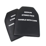 EVA board for Tactical Vest  One pair of 9x12 inch single board