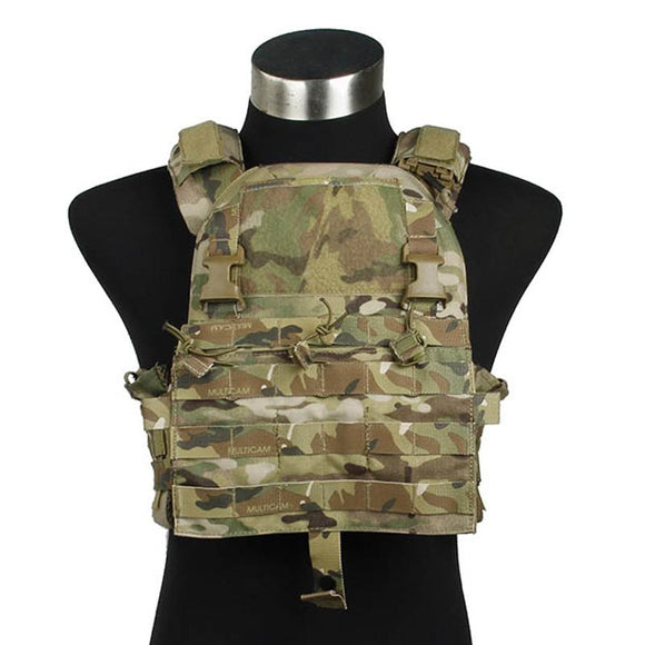 FMA Tactical Vest Modular Plate Carrier New Tactical Multicam 500D Cordura Fabric