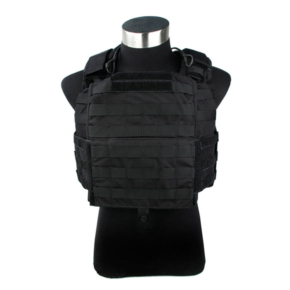 FMA Tactical Vest  New CAC Plate Carrier 500D Cordura Outdoor Non-reflective