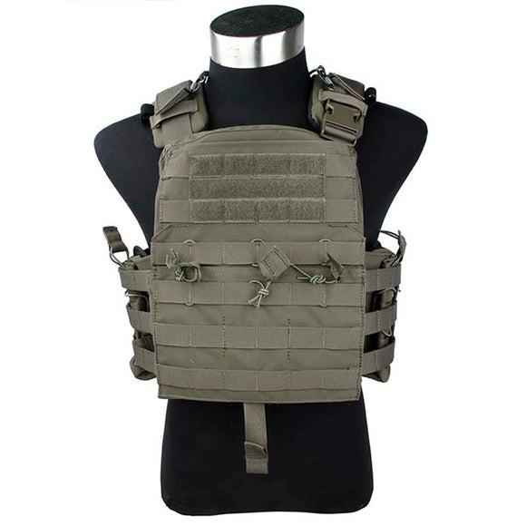 TMC CP NCPC Tactical Vest Adjustable MOLLE Body Armor Airsoft Combat Cherry Plate Carrier