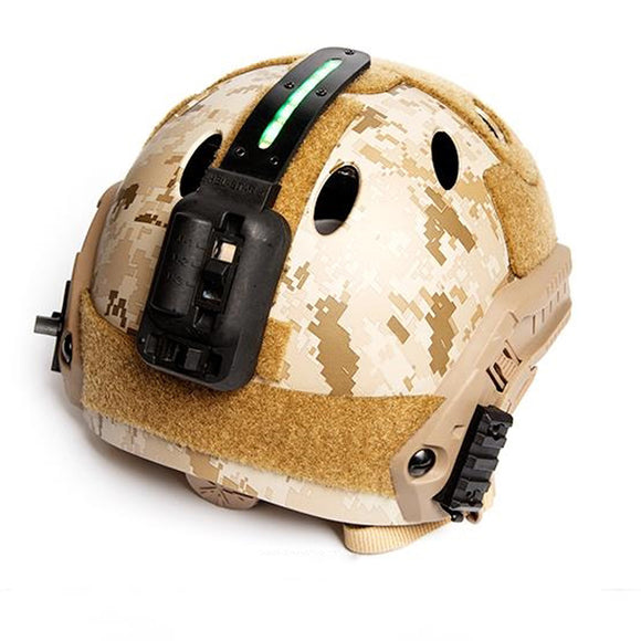 FMA HEL-STAR 5 Green Light Black / Desert for Helmets & Molle