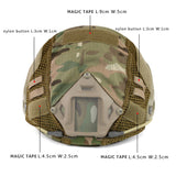 Tactical Helmet Cover Airsoft FAST Helmet Cover for Head Circumference 52-60cm Helmet 10 Color