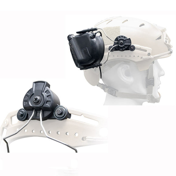 Opsman Eermor Tactical Headset for Team Wendy EXFIL Helmet Rail Free Shipping