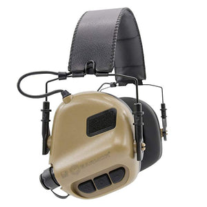 Tactical Headset M32 Aviation Headphones Hearing Protector Shooting for Airsoft Tactical call