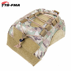 Tactical Multicam Helmet Cover Camouflage for FMA Fast PJ Ballistic Helmets
