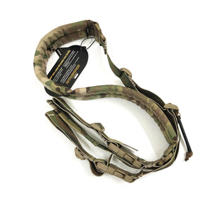 FMA Quick Adjust Padded 2 Point Sling Multicam Black for Military Gun Sling Gear