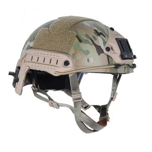 FMA Tactical Helmets FAST PJ Ballistic Type Tactical Gear Helmet Multicam