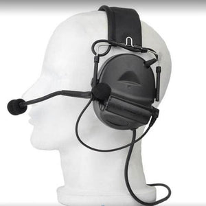 Tactical Headset Comtac II Peltor Headphones No Noise Reduction Function Communication